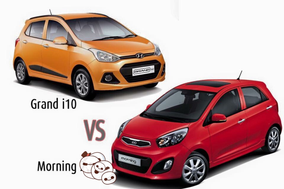 ⚖ KIA Morning 2016 hay Huyndai Grand i10 2016
